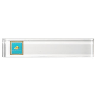 TEE Rubber Ducky Bliss Name Plate