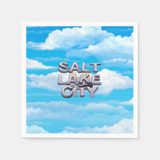 TEE Salt Lake City Paper Napkins