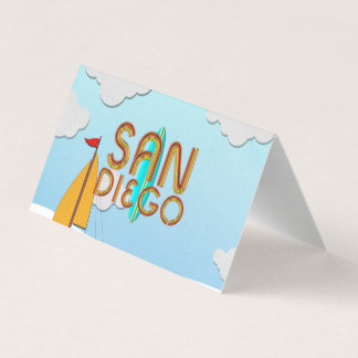 TEE San Diego Business Card