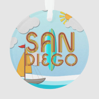 TEE San Diego Ornament