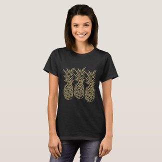 Tee-shirt BASIC for woman, Pineapple Gold T-Shirt