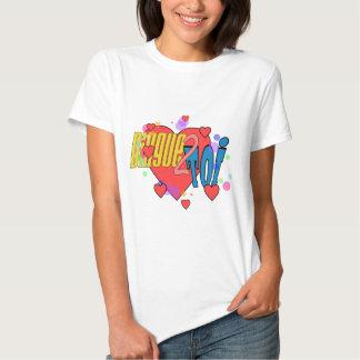 "Tee-shirt BASIC for woman, White ""Nutcase 2 You "" Tee Shirt"