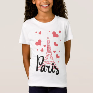 Tee-shirt BASIC Paris Girl T-Shirt