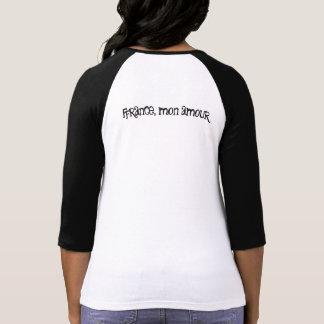 Tee-shirt bicolor woman sleeve 3/4 T-Shirt
