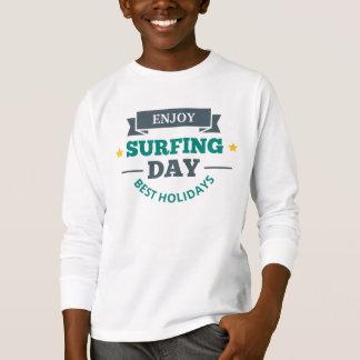 Tee-shirt Boy Surfing T-Shirt