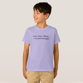 "tee-shirt child ""not sucker "" T-Shirt"