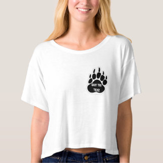 Tee-shirt court of woman save the tiger T-Shirt
