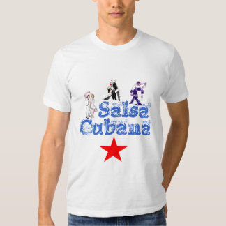 Tee-shirt Cubana salsa Shirt