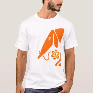 tee-shirt dachshund with flower T-Shirt