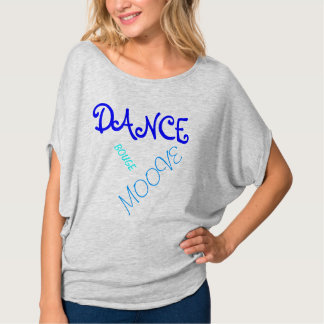 Tee-shirt dance gray blue T-Shirt