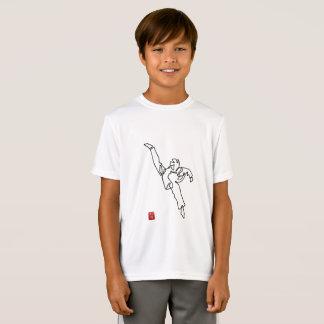 Tee-shirt DWICHAGI back kick Sport-Teak boy T-Shirt