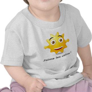 Tee shirt enfant J aime les câlins T-shirt