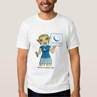Tee-shirt Enoria Vivanie Creation and square logo Tees