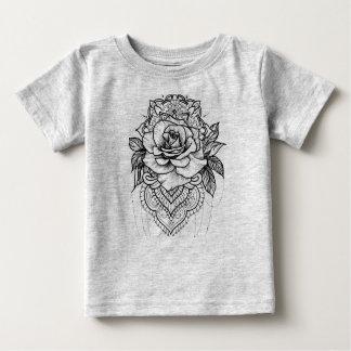 Tee-shirt in jersey mandala baby T-Shirt