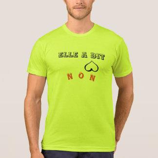 "tee-shirt ""it said not "" T-Shirt"