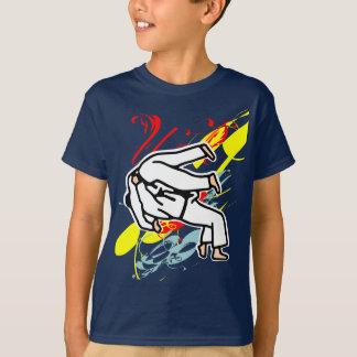 tee-shirt judo tee shirt