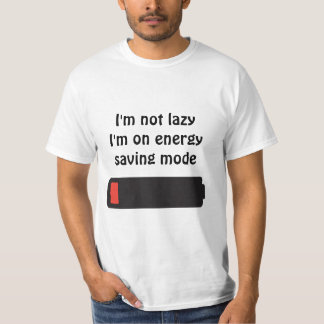 Tee-shirt Low battery T-Shirt