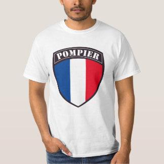 Tee-shirt Man Fireman of France Tshirts