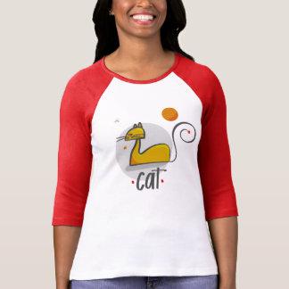Tee-shirt off orange year cat resting T-Shirt