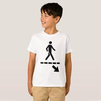 Tee-shirt Panel priority pedestrians child T-Shirt