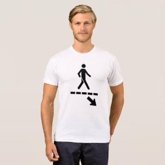 Tee-shirt Panel priority pedestrians man T-Shirt