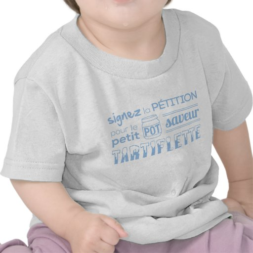 Tee-shirt petition