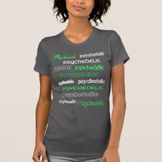 Tee-shirt Psychedelic Remastered Green T Shirt