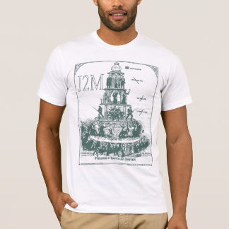 tee-shirt pyramid off capitalism system J2M T-Shirt
