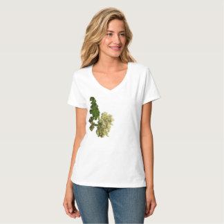 "Tee-shirt V-neck Hanes Nano of ""the Beautiful T-Shirt"