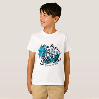 Tee-shirt white child Polynesian tortoise T-Shirt