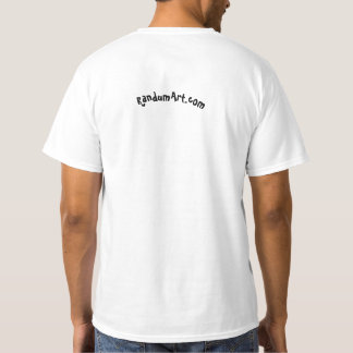 Tee-shirt with unique image. T-Shirt