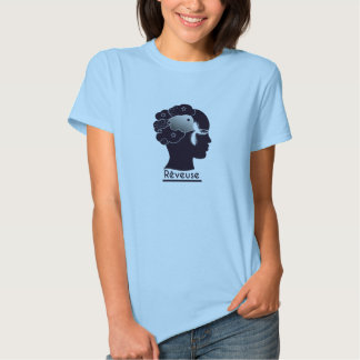 "Tee-shirt Woman Profile ""Rêveuse "" Tee Shirts"