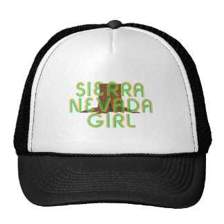 TEE Sierra Nevada Girl Cap
