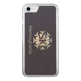 TEE Ski Pennsylvania Carved iPhone 7 Case