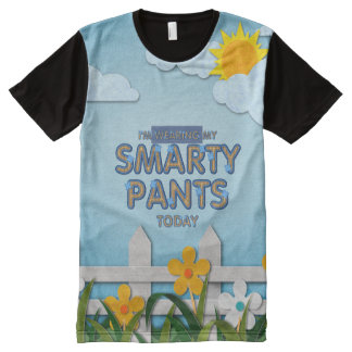 TEE Smarty Pants All-Over Print T-Shirt