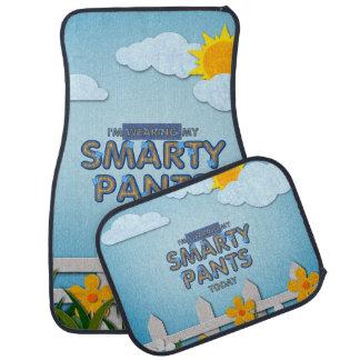 TEE Smarty Pants Car Mat