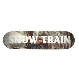 TEE Snow Train 21.3 Cm Mini Skateboard Deck