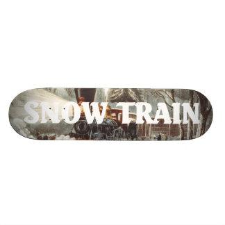 TEE Snow Train Skateboard Decks