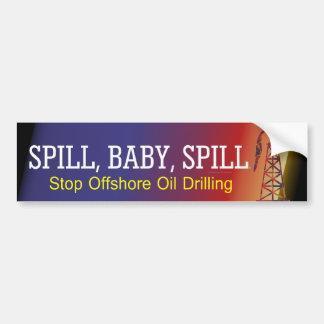 TEE Spill Baby Spill Bumper Sticker