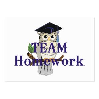 TEE Team Homework Business Cards