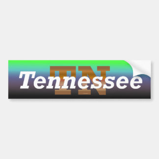 TEE Tennessee Bumper Sticker