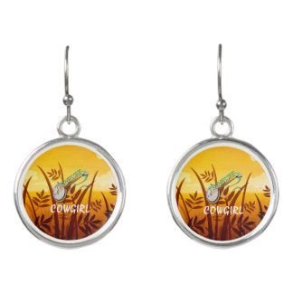 TEE Tennessee Cowgirl Earrings