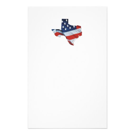 TEE Texas Patriot Personalized Stationery