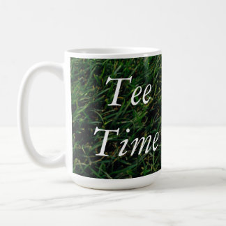 Tee Time Golf Lover Mug