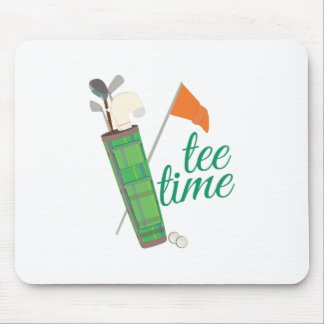 Tee Time Mouse Pad