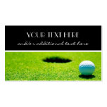 Tee Time Pack Of Standard Business Cards
