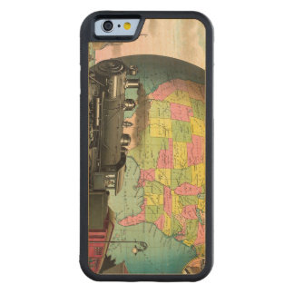 TEE Transportation Carved Maple iPhone 6 Bumper Case