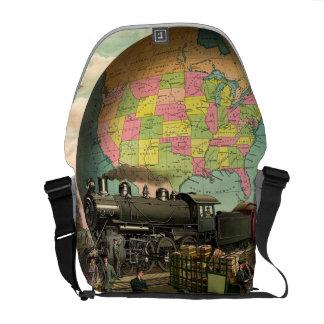 TEE Transportation Messenger Bag