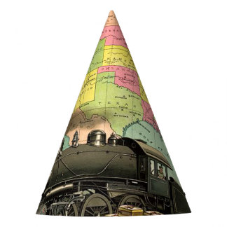 TEE Transportation Party Hat