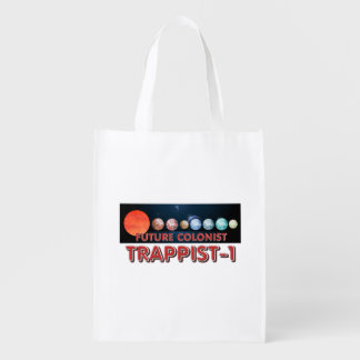 TEE Trappist-1 Colonist Reusable Grocery Bag